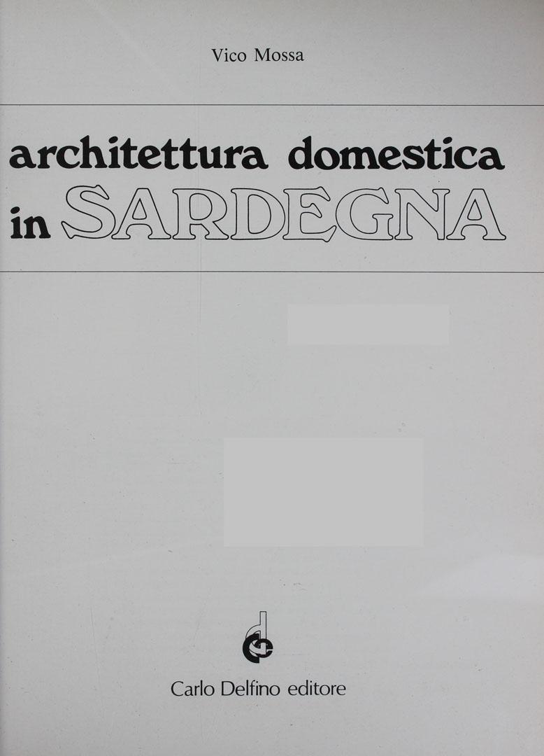 architettura domestica in sardegna rete italiana di